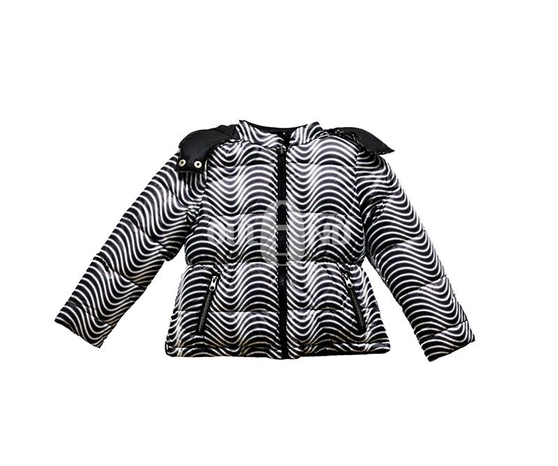 Reversible puff kids jacket