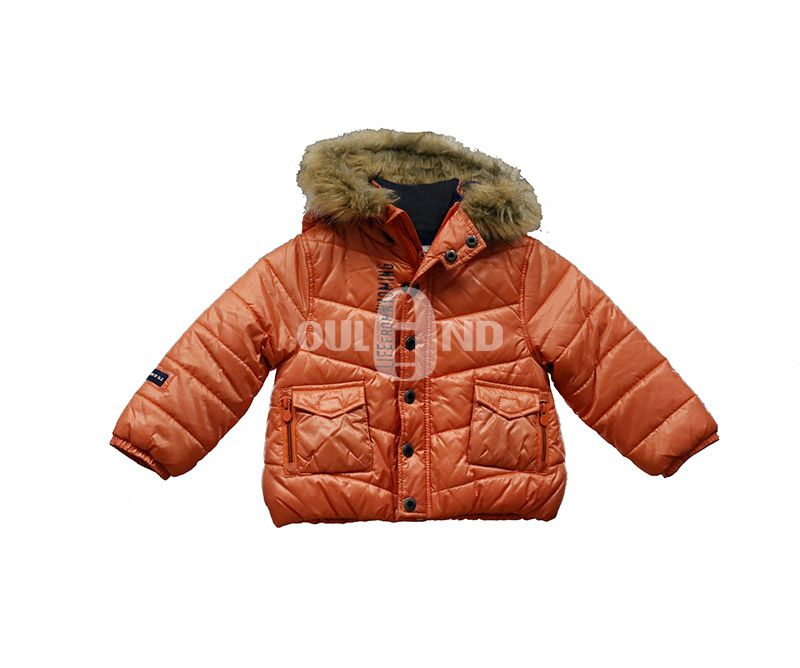 Water resistant kids padding jacket