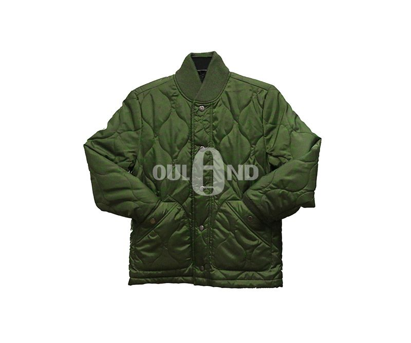 Quilted padded kids jacket