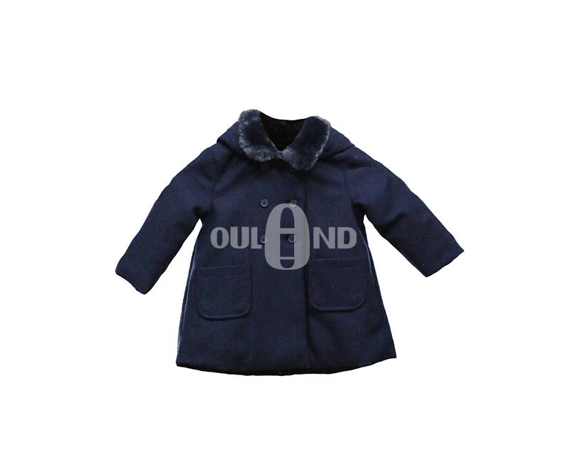 Woolen Fabric kids coat