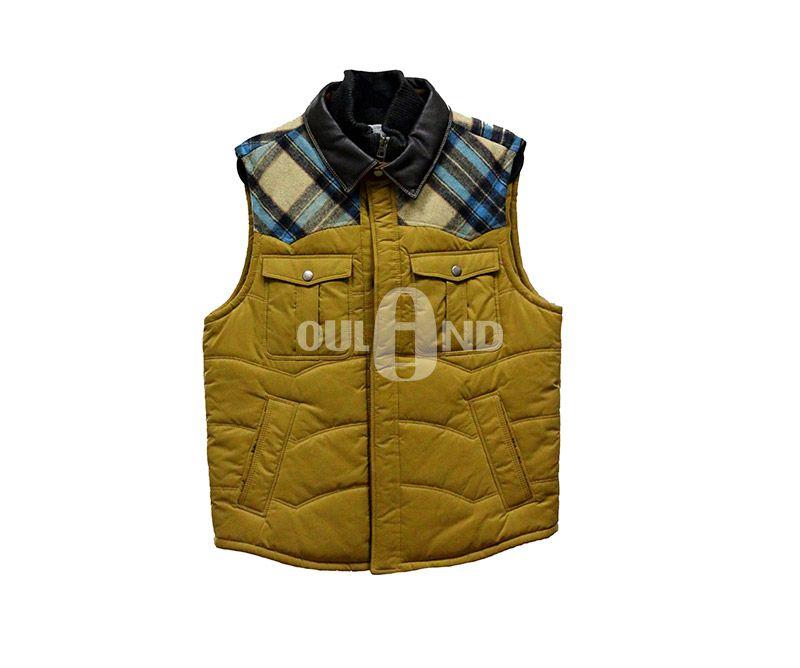 Men's padding vest