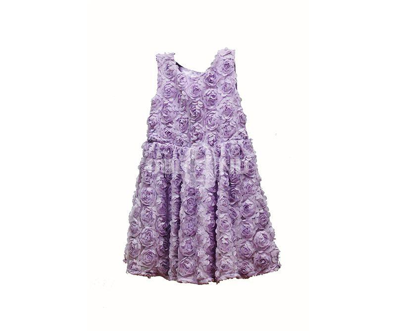 Girl's fancy flower dress